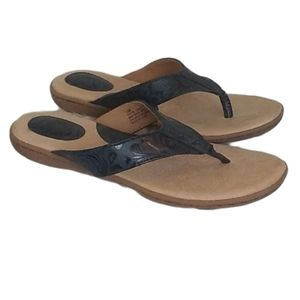 •BORN• navy cadore thong sandals